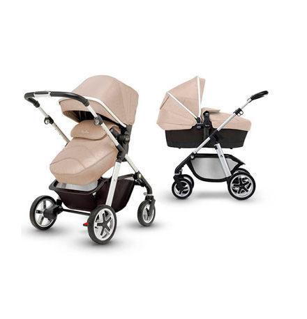 carros de paseo de bebé - Carrito bebe Silver Cross Horizon go linen 440x458 - Carritos de bebé