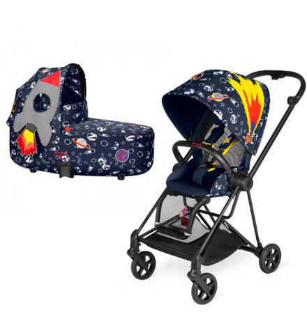 carros de paseo de bebé - carrito bebe 2 piezas mios cybex x anna k chasis negro 440x458 - Carritos de bebé