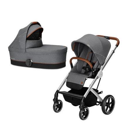 carros de paseo de bebé - carrito bebe cybex balios S 2 piezas denim collection manhattan grey 440x458 - Carritos de bebé