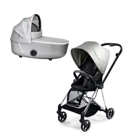 carros de paseo de bebé - carrito bebe mios 2 piezas koi chasis cromado edici  n especial 440x458 - Carritos de bebé