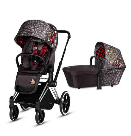 carros de paseo de bebé - carrito bebe priam 2 piezas rebellious chasis cromado edici  n especial 440x458 - Carritos de bebé