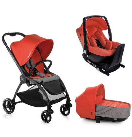 sillas de paseo ligeras - carro be cool outback crib one bepoppy 440x458 - Sillas de paseo ligeras
