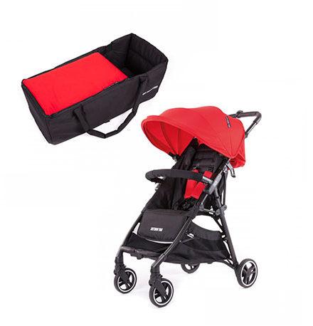 carros de paseo de bebé - carro bebe 2 piezas baby monster kuki rojo 440x458 - Carritos de bebé