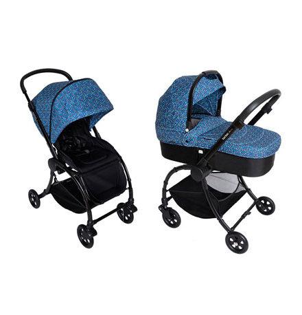 carros de paseo de bebé - carro bebe 2 piezas tuc tuc plume alleoad azul enjoy y dream 440x458 - Carritos de bebé