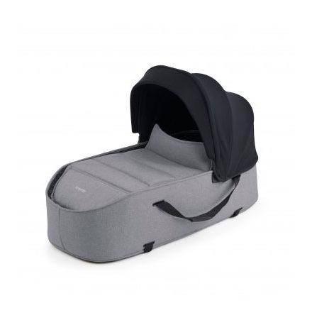 carros de paseo de bebé - carro bebe bumprider connect capazo gris 440x458 - Carritos de bebé