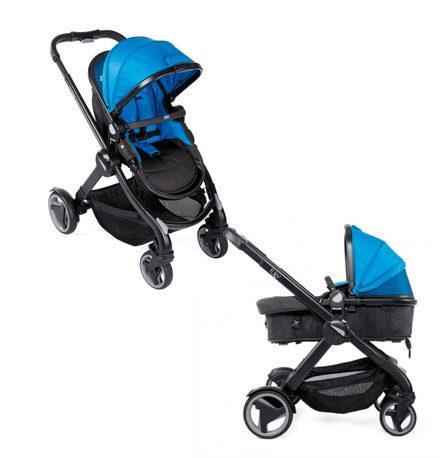 carros de paseo de bebé - carro bebe chicco 2 piezas fully single power blue 440x458 - Carritos de bebé