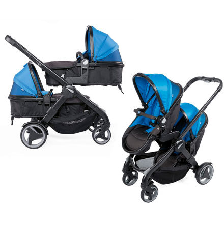 carritos de paseo - carro bebe chicco 2 piezas fully twin power blue 440x458 - Carritos de paseo