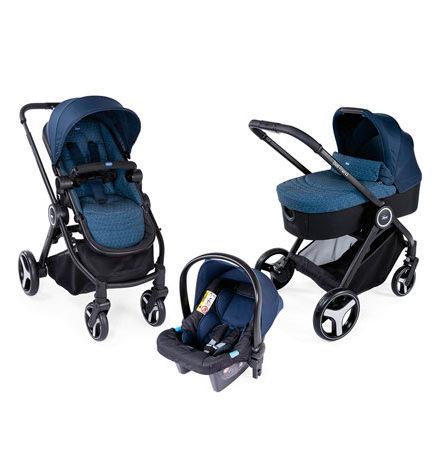 carros de paseo de bebé - carro bebe chicco 3 piezas best friend oxford azul 440x458 - Carritos de bebé