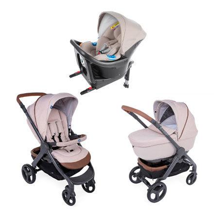carritos de bebé - carro bebe chicco 3 piezas style go up isofix beige 440x458 - Carritos de bebé