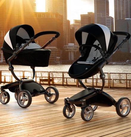 carros de paseo de bebé - carro bebe mima xari black black white black white 440x458 - Carritos de bebé