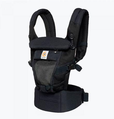 mochila de porteo - ergobaby mochila portabebes adapt cool air mesh negro onyx 440x458 - Mochila de porteo