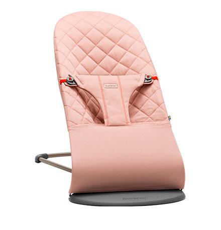 carros de paseo de bebé - hamaca bebe baby bjorn bliss rosa palo algod  n 440x458 - Hamacas para bebé