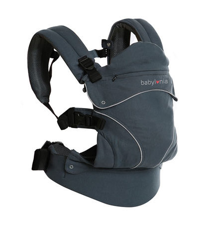 mochila de porteo - mochila portabebes flexia deep babylonia negro 440x458 - Mochila de porteo