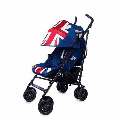 pasear al bebé - silla de paseo ligrea mini bmw mini buggy union jack vintage 440x458 - Pasear al bebé