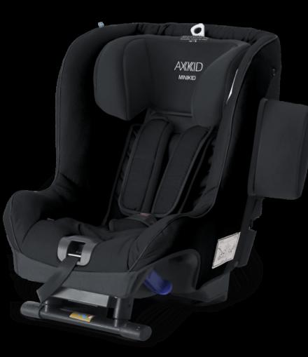 axkid-minikid-negro sillas de coche grupo i - axkid minikid negro 440x509 - Sillas de coche grupo I