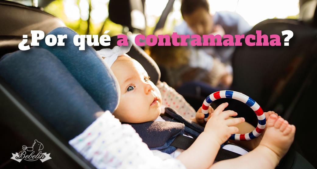 Bebé a Contramarcha en Silla de Auto