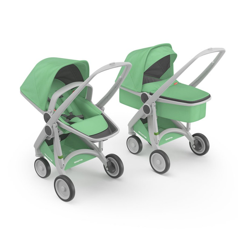 greentom-2-in-1-verde carritos de paseo - greentom 2 in 1 verde - Carritos de paseo
