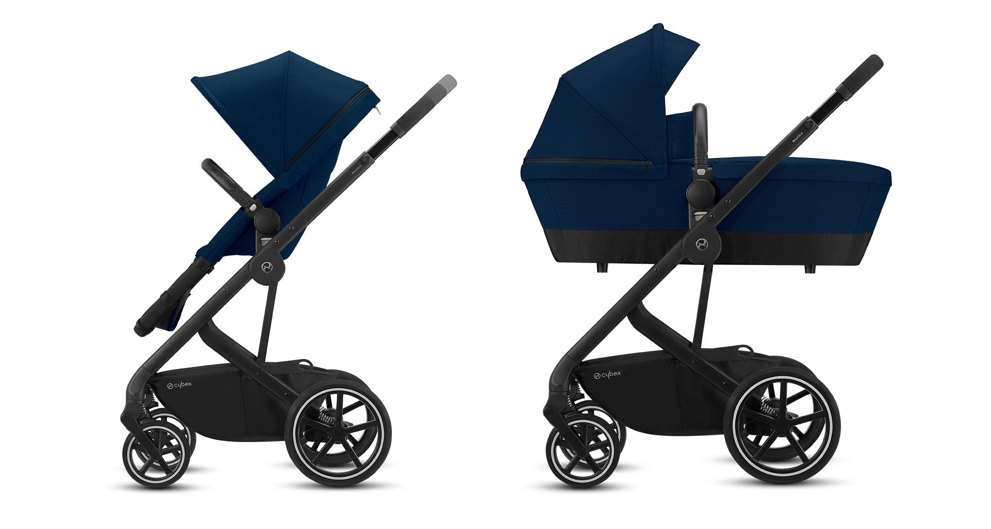 Carro-bebé-Balios-S-2-in-1-de-Cybex  - Carro beb   Balios S 2 in 1 de Cybex - Tiendas Bebelín – Inicio
