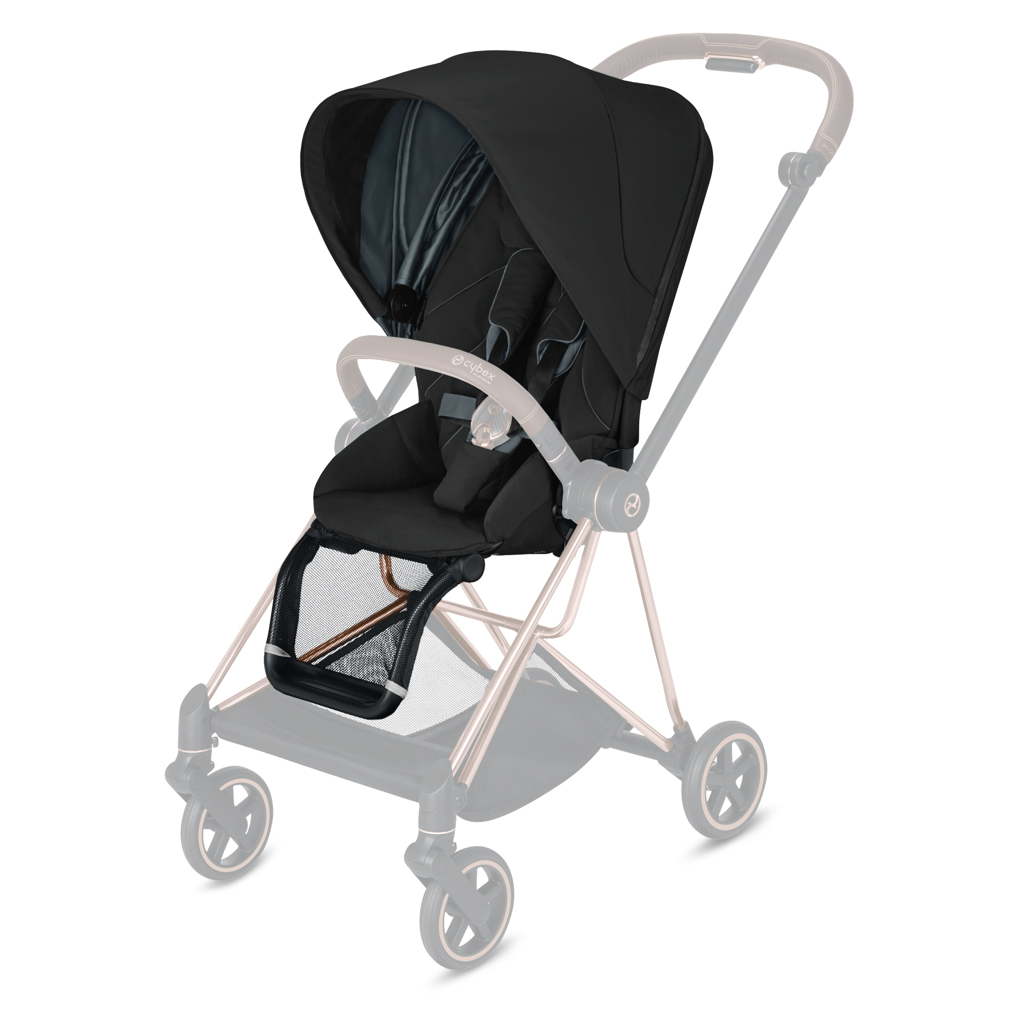 MIOS-cybex-silla-Deep-Black carritos de bebé - Carritos de bebé