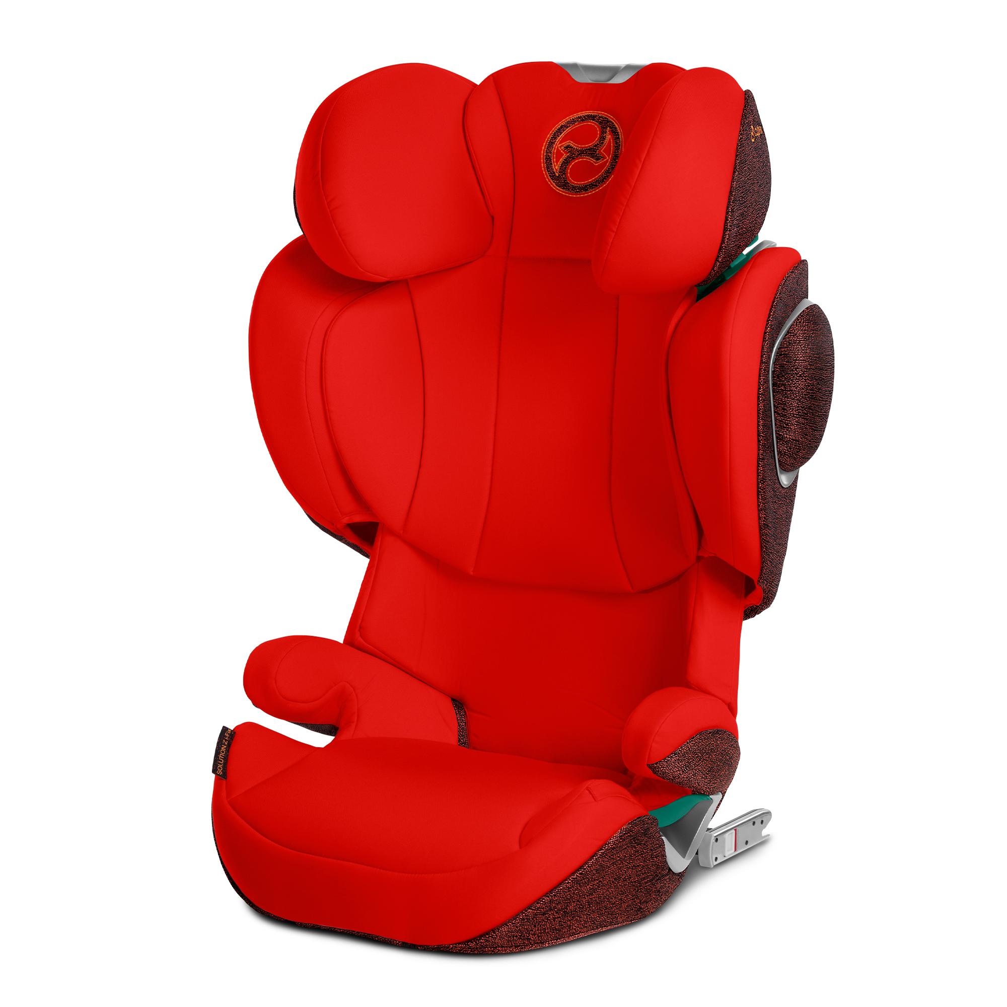 Silla-de-coche-Solution-Z-i-Fix-de-Cybex-Autumn-Gold silleta de bebé para coche - Silleta de bebé para coche