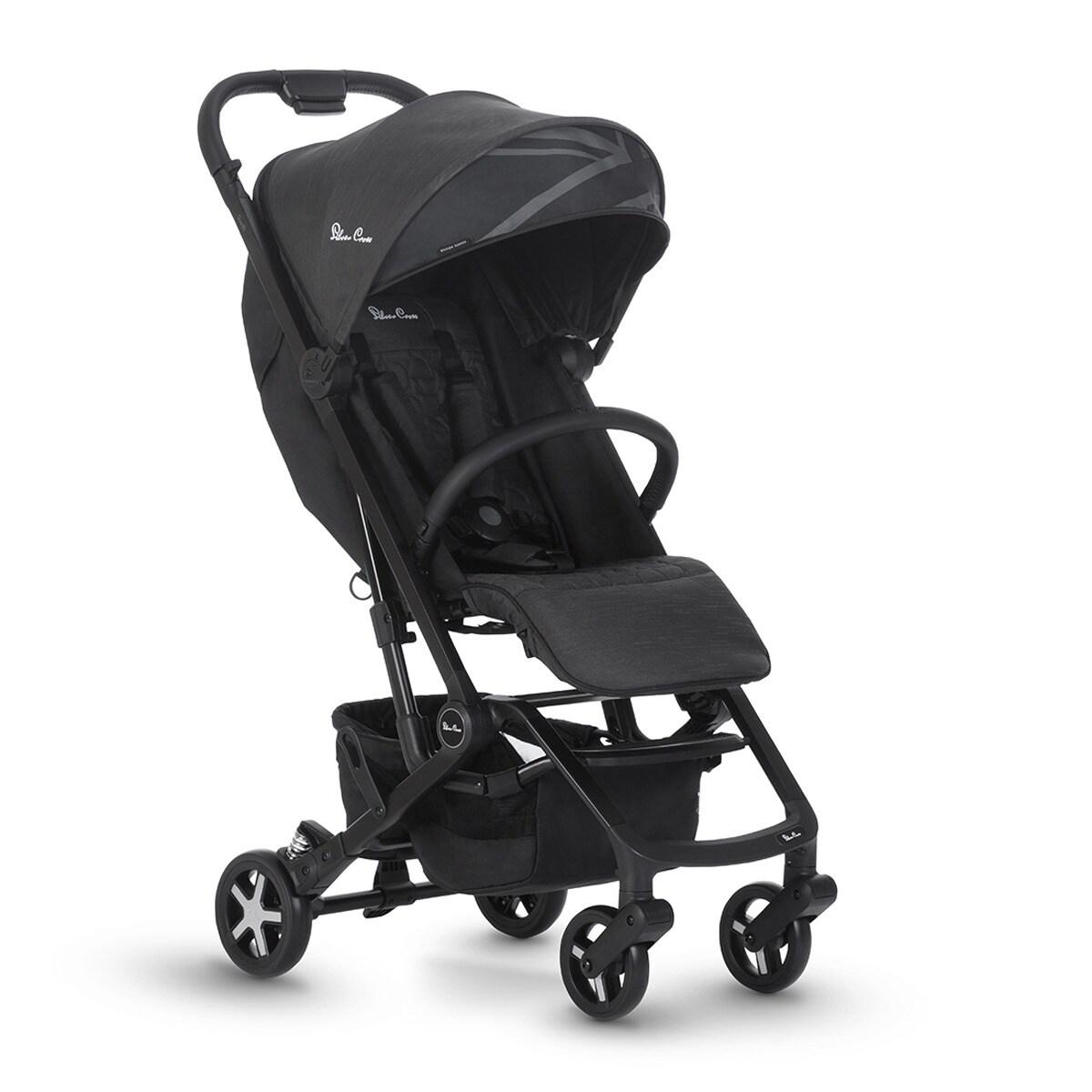 carritos de bebé - Silla ligera silver cross swift powder black - Carritos de bebé