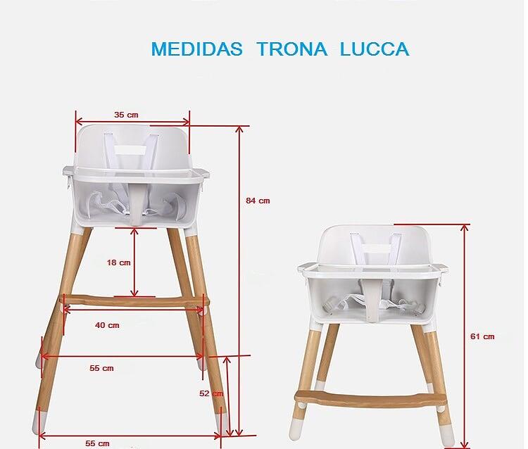 trona-Lucca-ikid tronas para bebé - Tronas para bebé